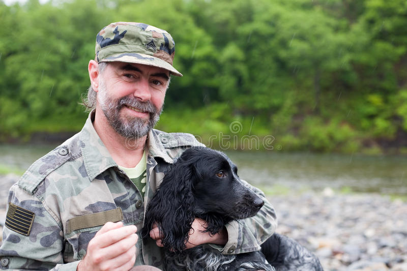 psi mężczyzna zdjęcie royalty free