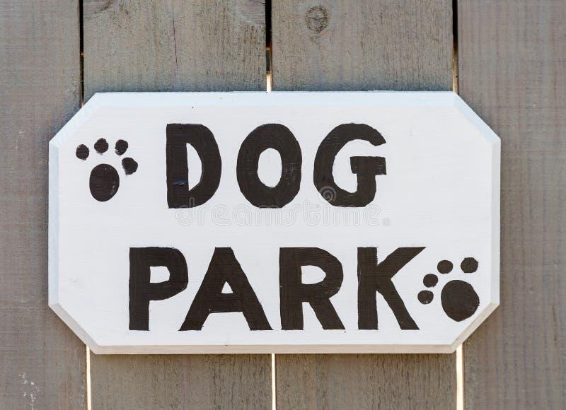 Psi park zdjęcie royalty free