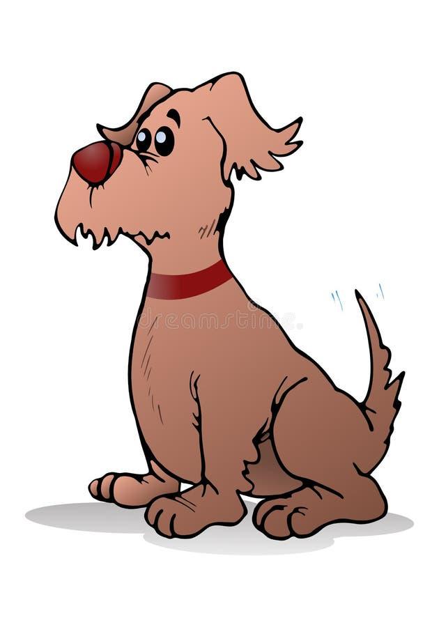 Psi strzeżenie ilustracja wektor