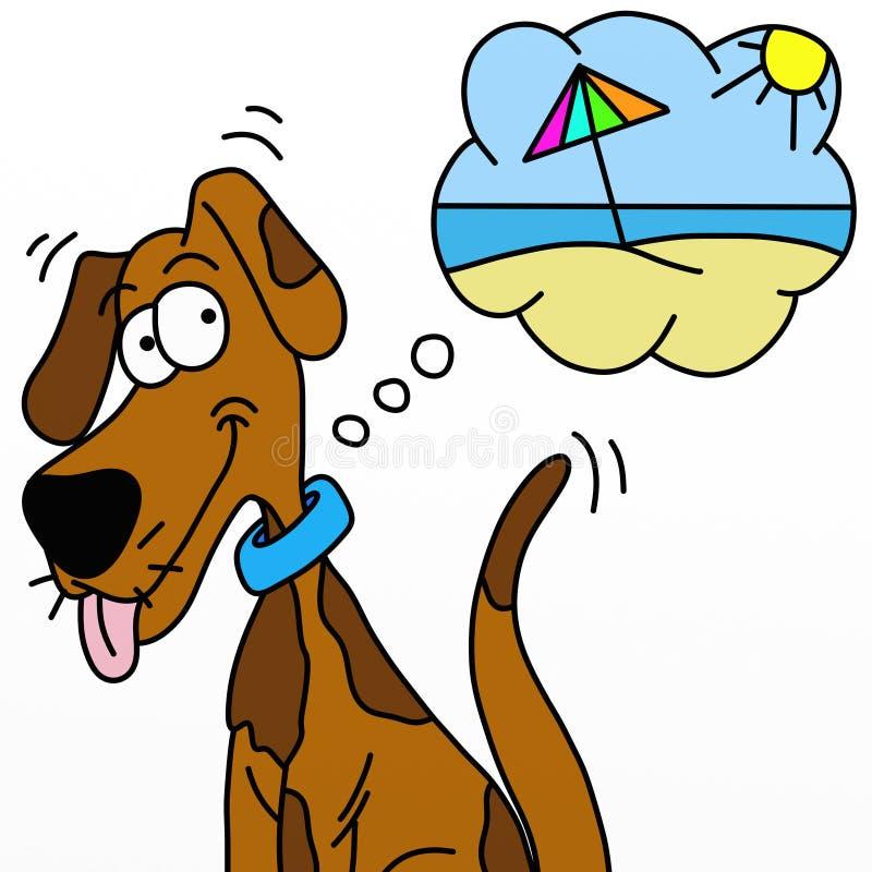 Download Psi wakacje ilustracji. Obraz złożonej z pies, komiczka - 24371778
