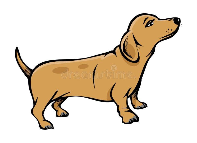 psi weiner ilustracja wektor