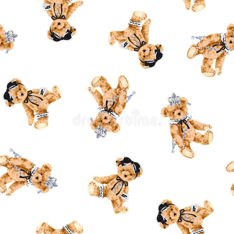 Psi wzór ilustracji