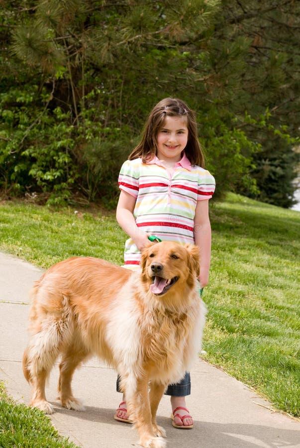 psia dziewczyna trochę zdjęcia royalty free