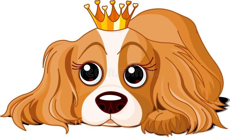 psia królewskość royalty ilustracja