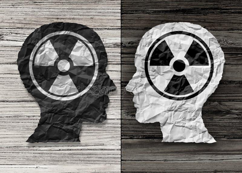 Psicologia tóxica dos povos ilustração stock