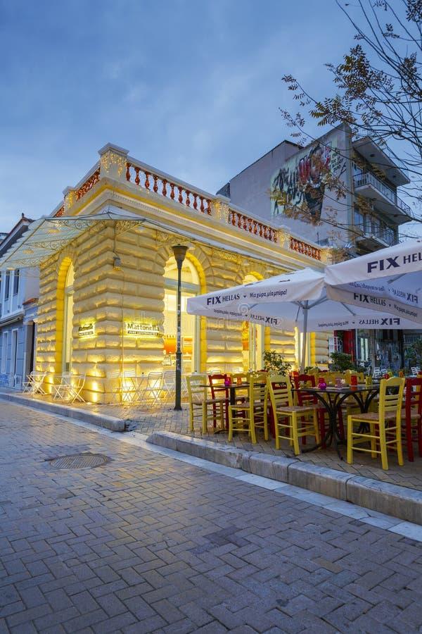 Psirri en Atenas fotos de archivo