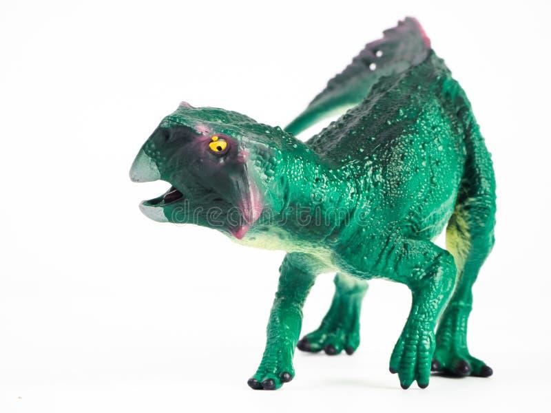 Psittacosaurus Dinosaur on white background stock photography