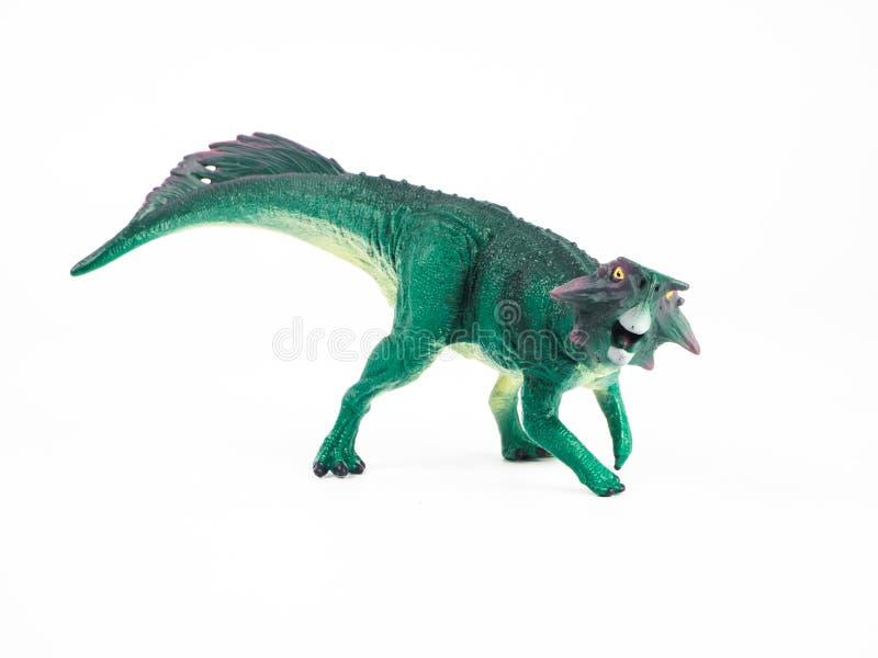 Psittacosaurus Dinosaur on white background royalty free stock image