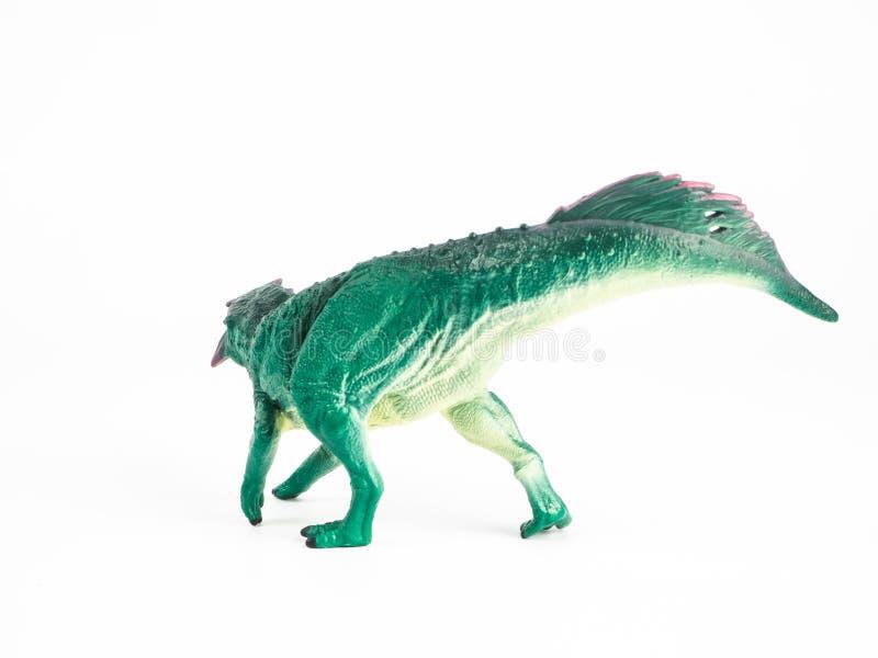 Psittacosaurus Dinosaur on white background royalty free stock photos