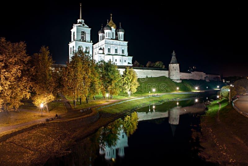 Pskov el Kremlin fotografía de archivo libre de regalías