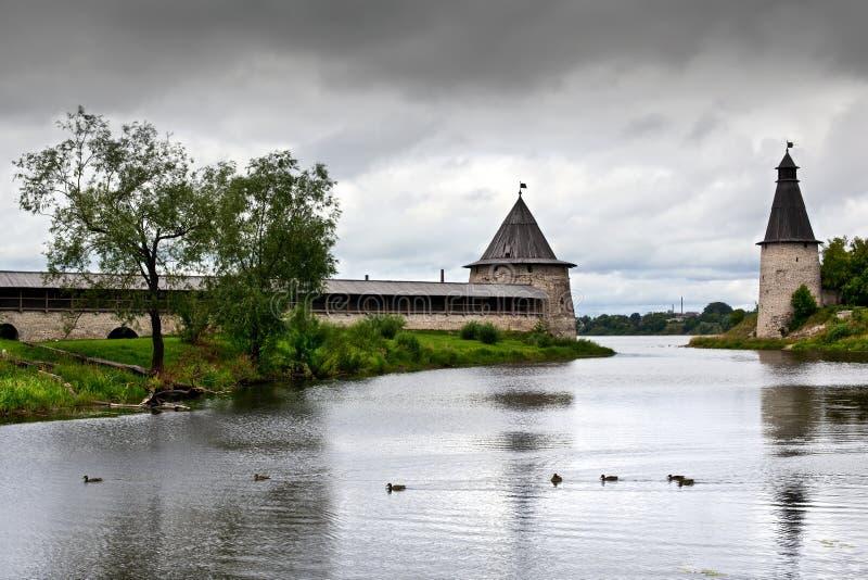 Pskov Krom immagine stock libera da diritti