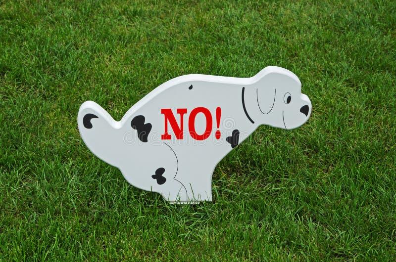 psy nie pozwolić zdjęcie stock