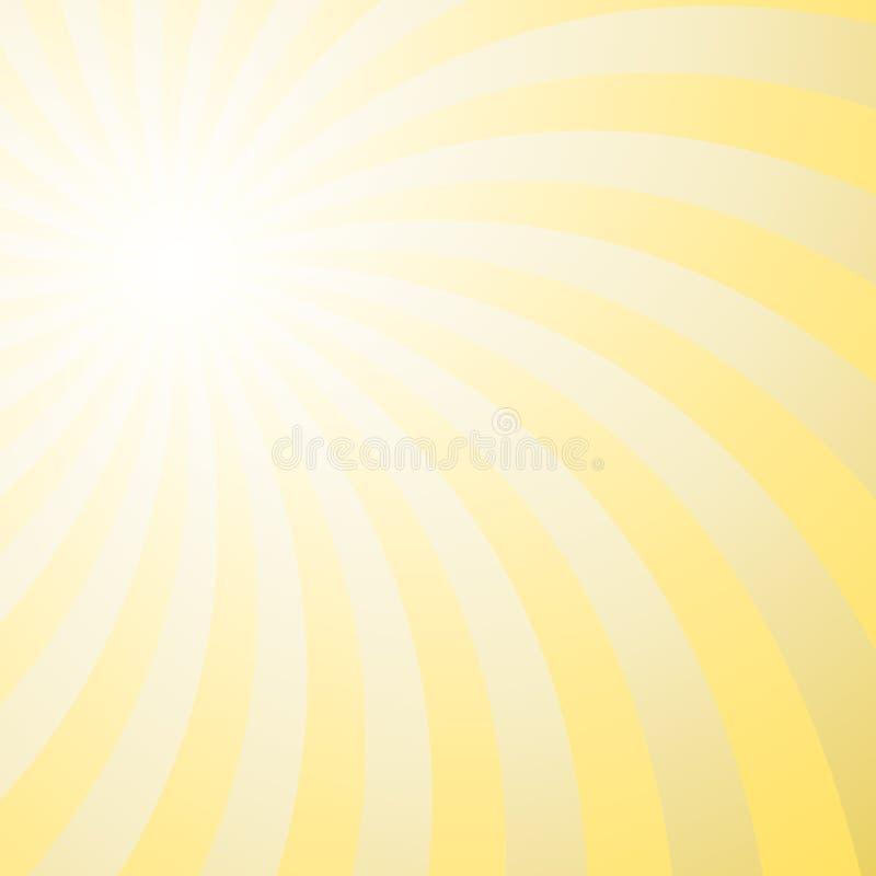 Psychedelic στροβιλιμένος υπόβαθρο ακτίνων ελεύθερη απεικόνιση δικαιώματος