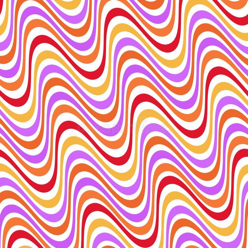 psychedelic royaltyfri illustrationer