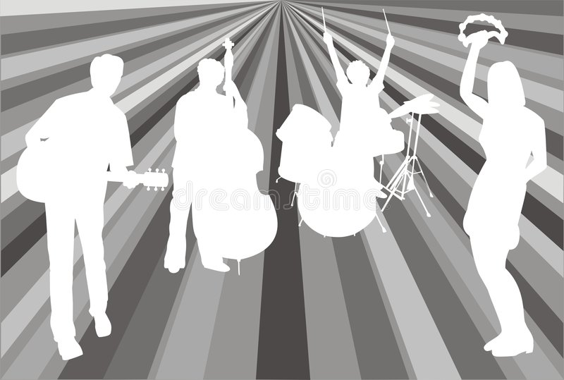 Download Psychedelic band stock vector. Image of greetings, card - 2355097