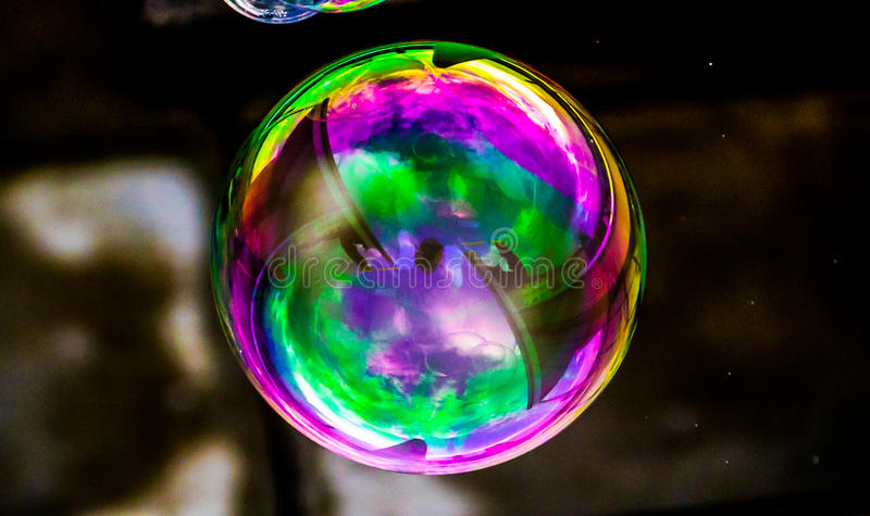 Download Psychedelic Bubble stock photo. Image of contrast, details - 46998448