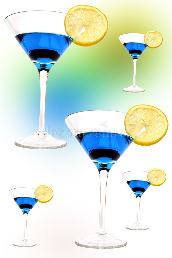 Psychedelic Cocktail stock photo