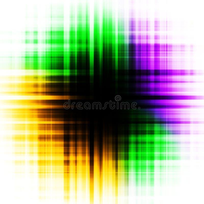psychedelic färgrikt öga för bakgrund stock illustrationer
