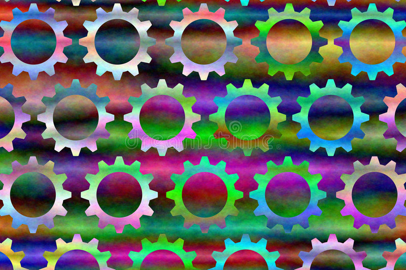 Download Psychedelic Gears # 3 stock illustration. Image of plasma - 5478872