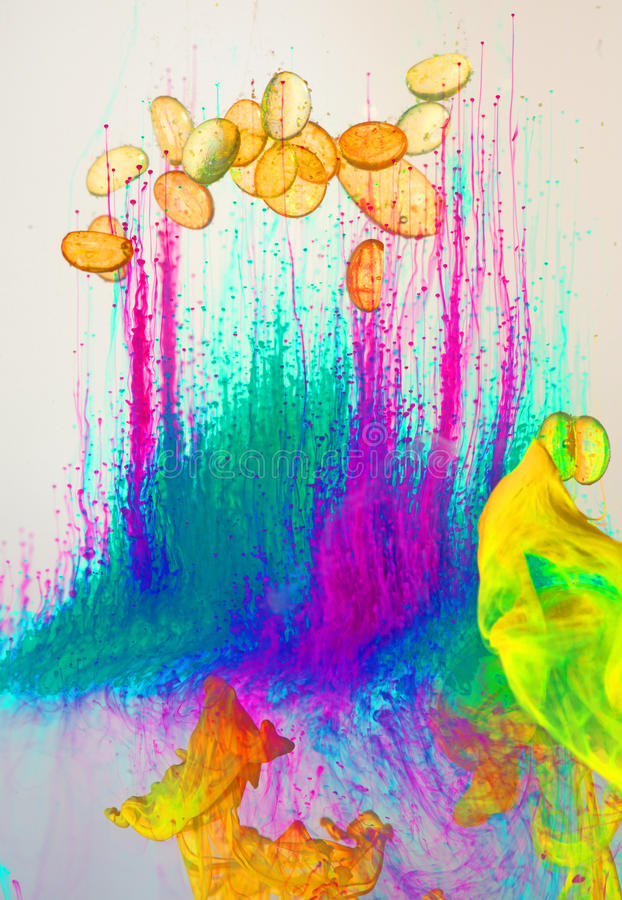 Download Psychedelic Paint Background Stock Photo - Image: 25452936