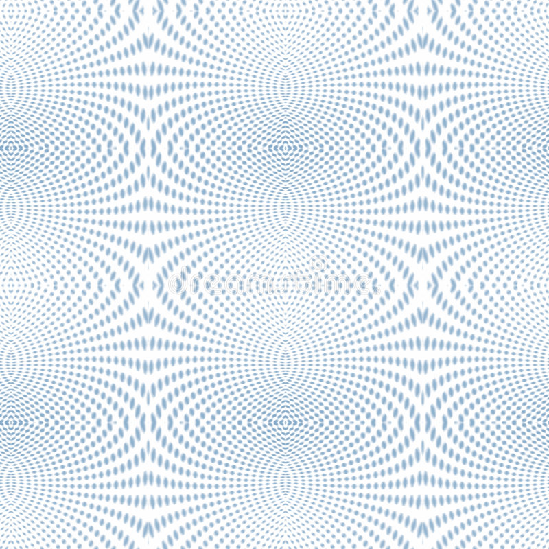 Free Psychedelic Soft Focus Halftone Blue Royalty Free Stock Images - 5361509
