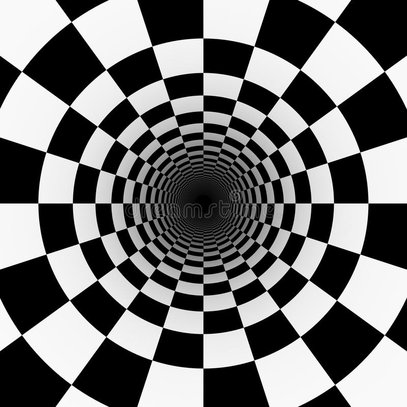Free Psychedelic Tunnel Stock Images - 49092874