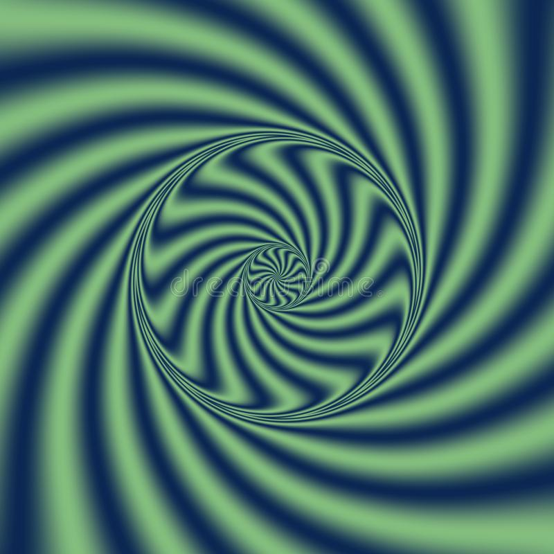 Psychedelic Wind Spiral. Digital abstract image with a psychedelic spiral. Psychedelic Wind Spiral. Digital abstract image with a psychedelic rotated spiral vector illustration