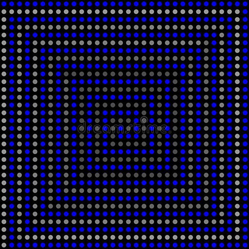 Psychedelisch 3D patroon. vector illustratie