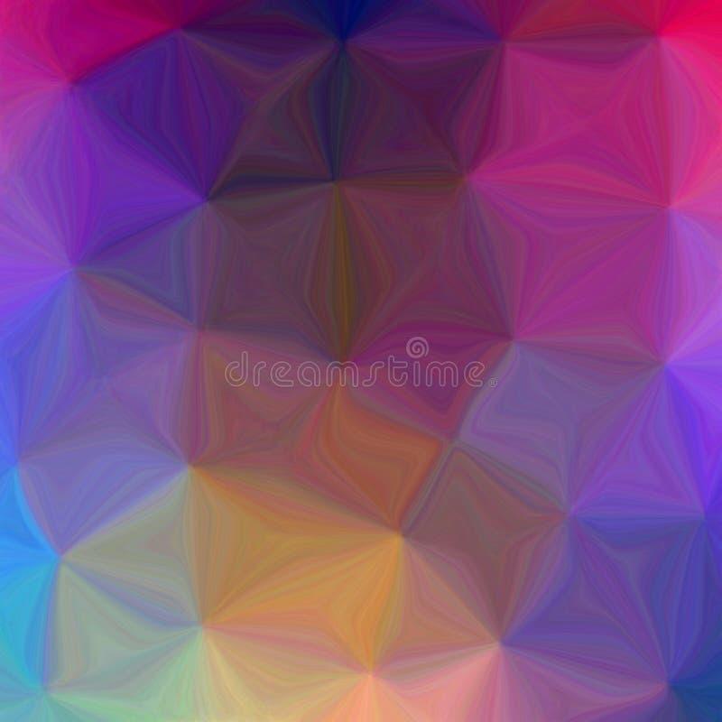 Psychedelische Abstracte Tegel vector illustratie