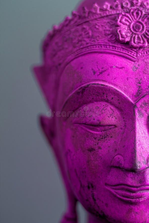 Psychedelische Boedha in een Trance stock foto's