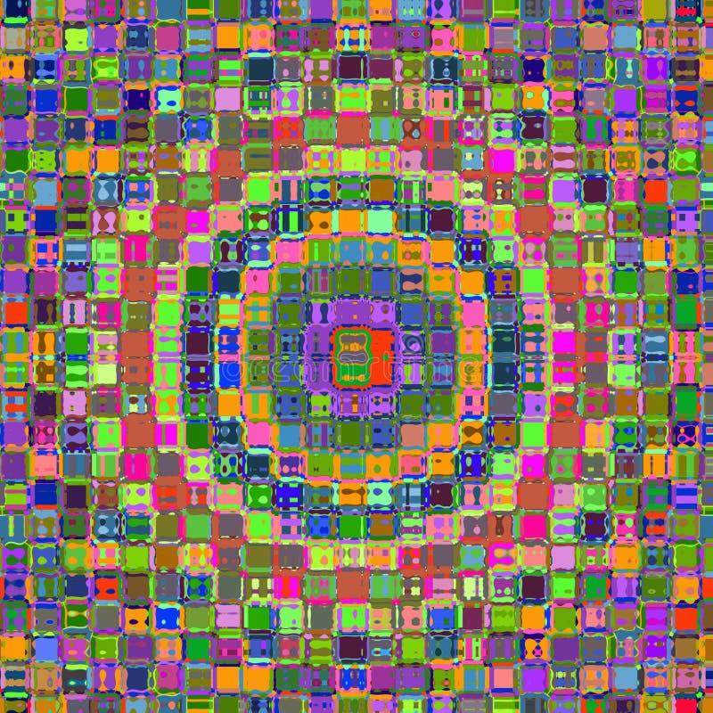Psychedelische Farben. lizenzfreie abbildung
