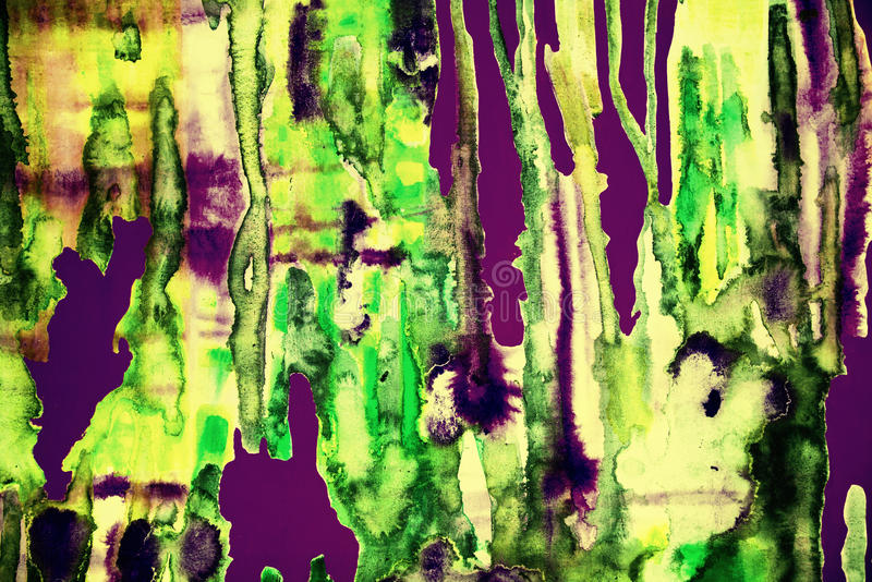 Psychedelische kleurrijke samenvatting stock foto