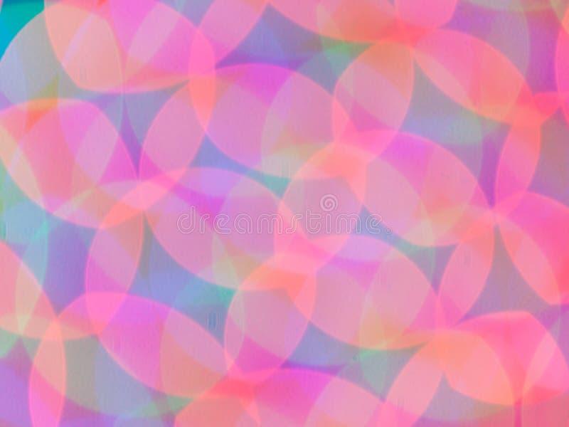 Psychedelische Leuchten des abstrakten Hintergrundes stockfotos