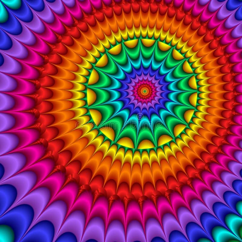 Psychedelischer Impuls vektor abbildung