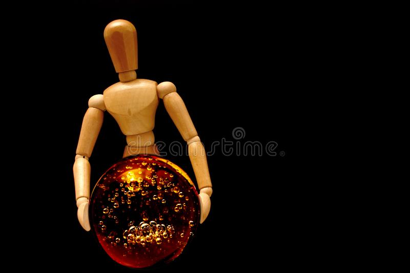 Psychic Mannequin Stock Images