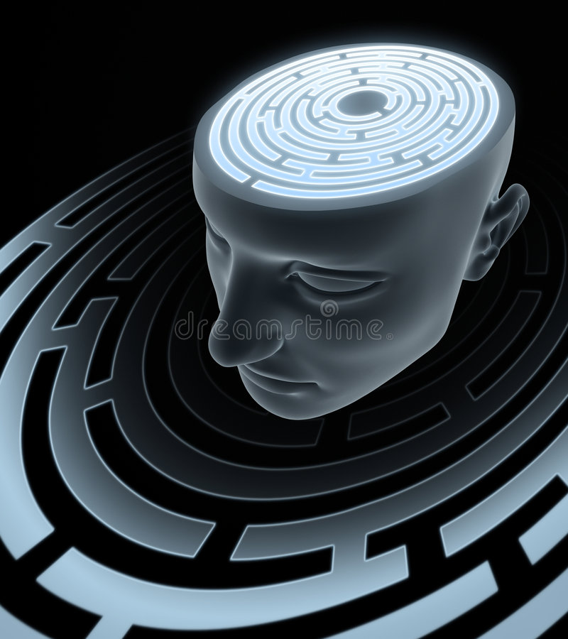 Free Psychic Mind Stock Photography - 6724242