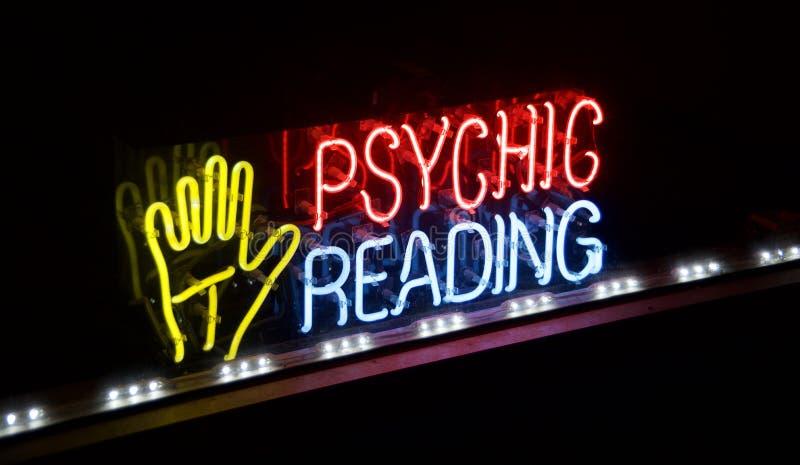 Psychisches Reading Fortune Teller stockbild