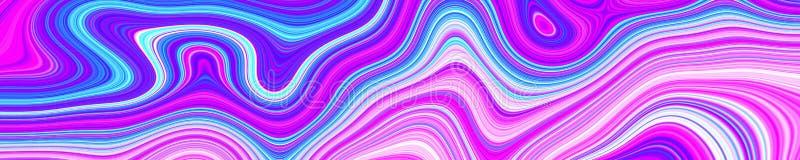 Psychodelicznego sieć abstrakta deseniowy i hipnotyczny tło, stopka układ ilustracji