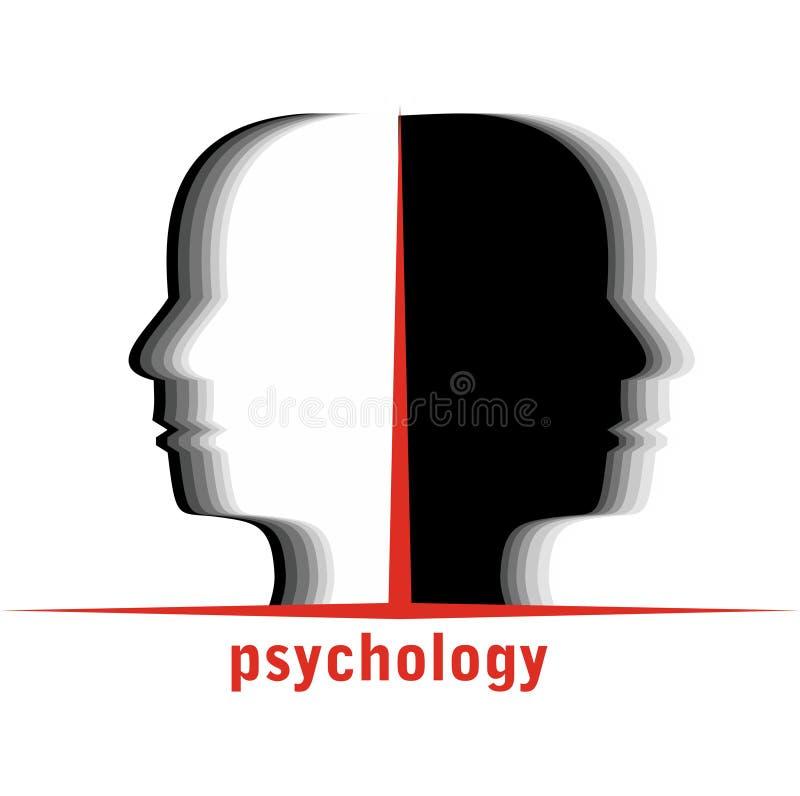 Psychologia ilustracja wektor