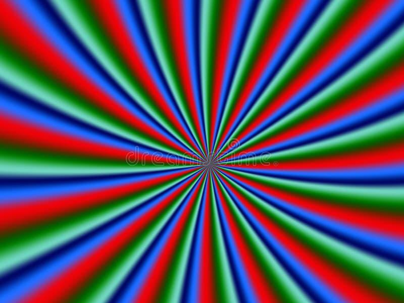 Psychological spiral. Generated fractal graphic - psychological spiral vector illustration