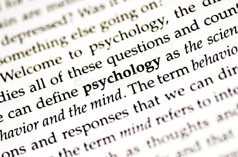 Psychologie stockbilder