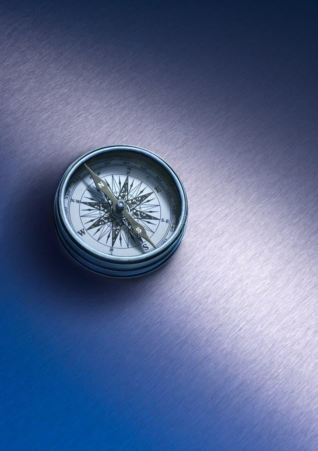 Psychologie de stratégie commerciale de compas image stock