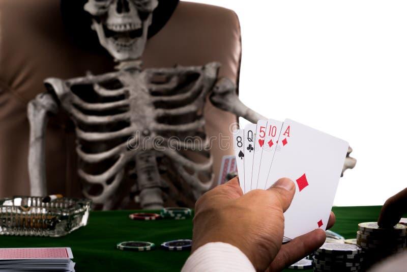 Psychologie met het gebruiken van Ruse om andere spelers te verlokken royalty-vrije stock afbeeldingen