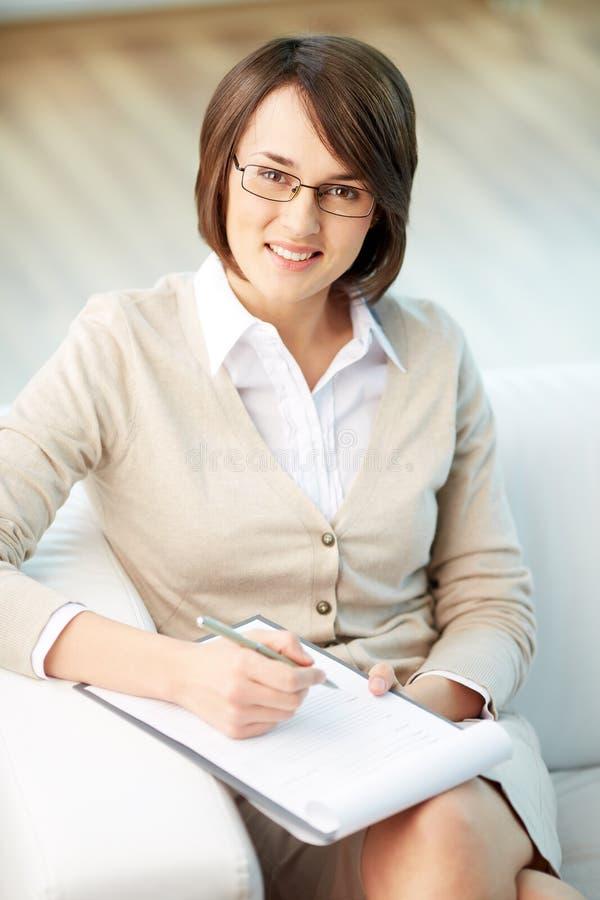 Psychologist stock photo