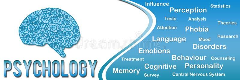 Psychology Horizontal stock illustration