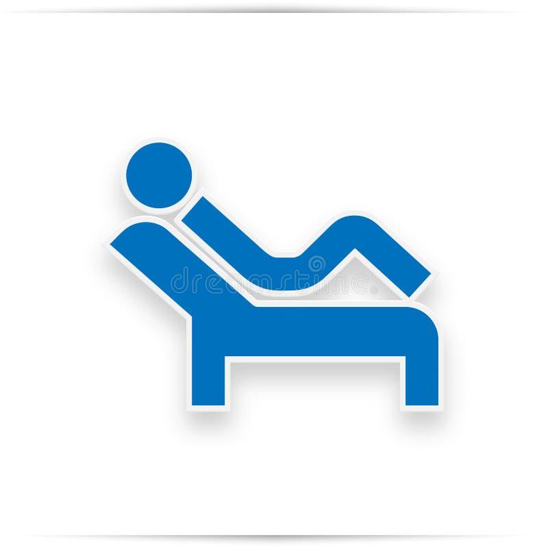 Psychology session sign vector illustration