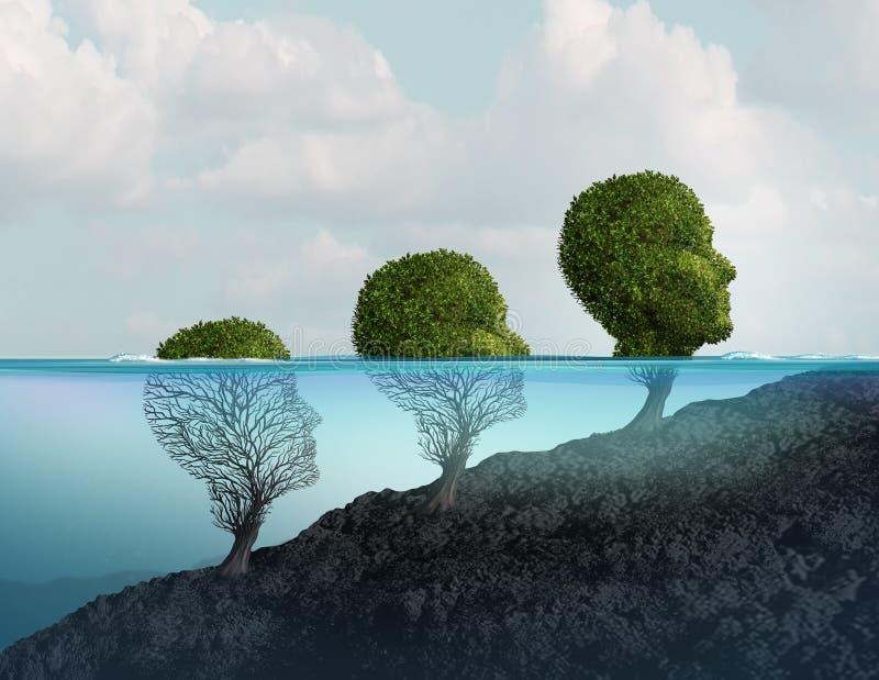 psychothérapie illustration libre de droits
