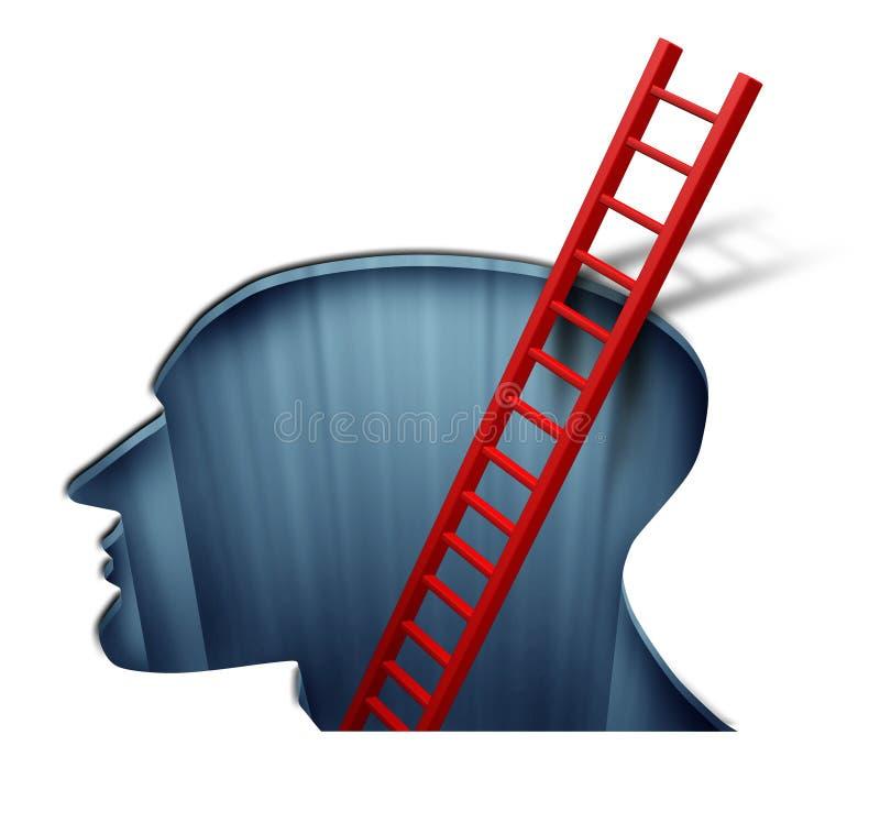 Psychothérapie illustration de vecteur