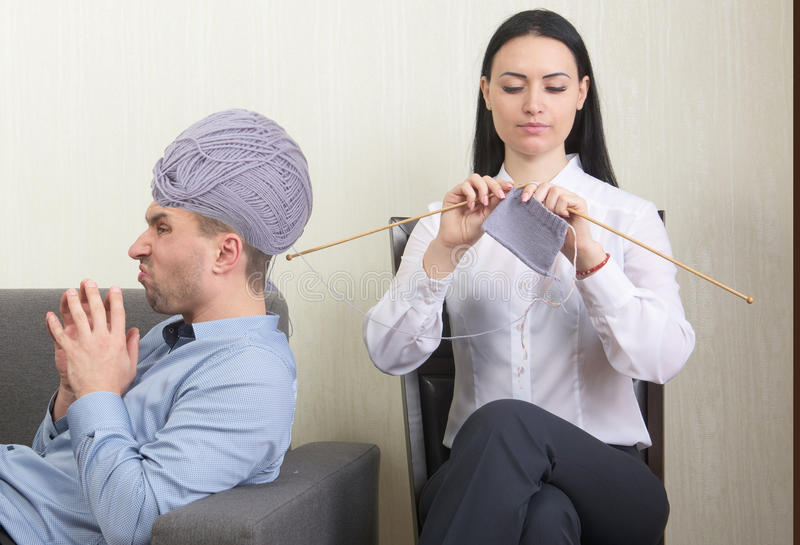 Psychotherapiekonzept stockbild