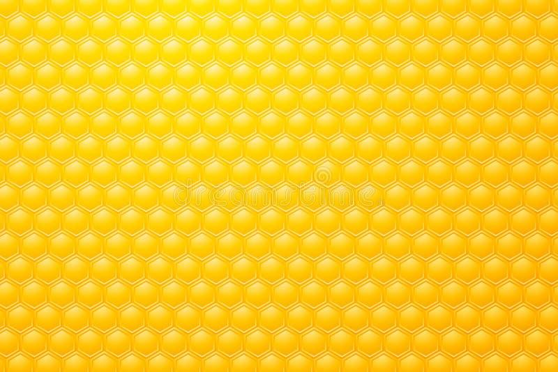Pszczół honeycombs ilustracji